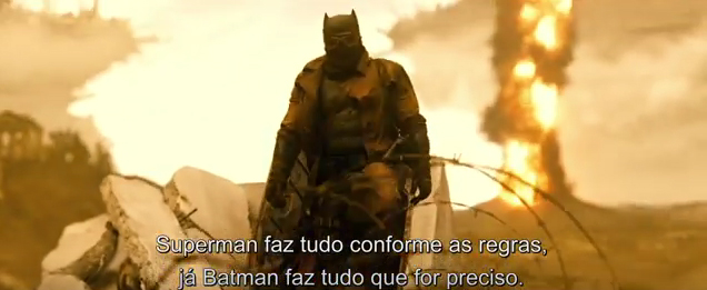 Batman vs Superman novo vídeo elenco