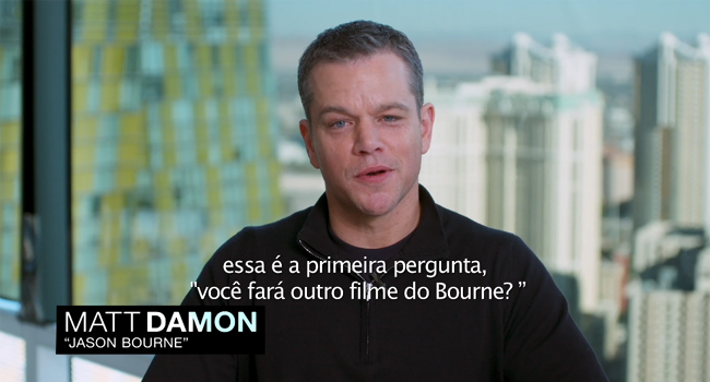 Jason Bourne making of