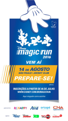 Disney Magic Run 2016